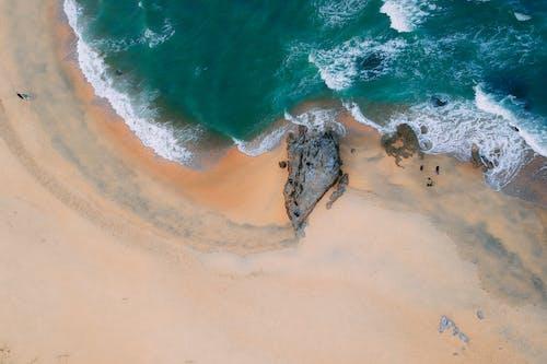 Gratis arkivbilde med ferie, hav, havkyst, høy-vinklet bilde