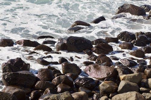 Gratis arkivbilde med hav, rock