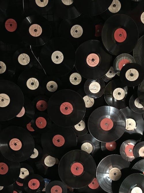 Fotobanka sbezplatnými fotkami na tému gramofónová platňa, hudba, kruhy, nahrať