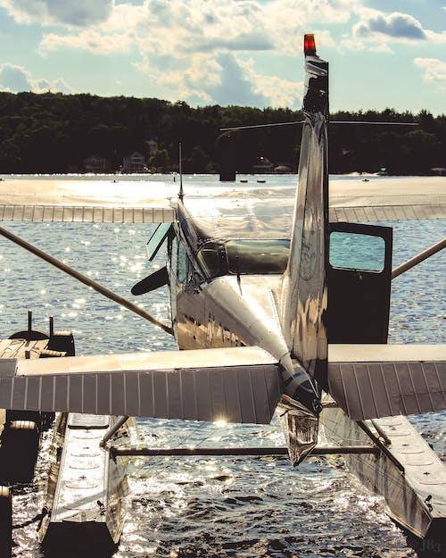 交通系統, 水上飛機, 海, 航空器 的 免費圖庫相片