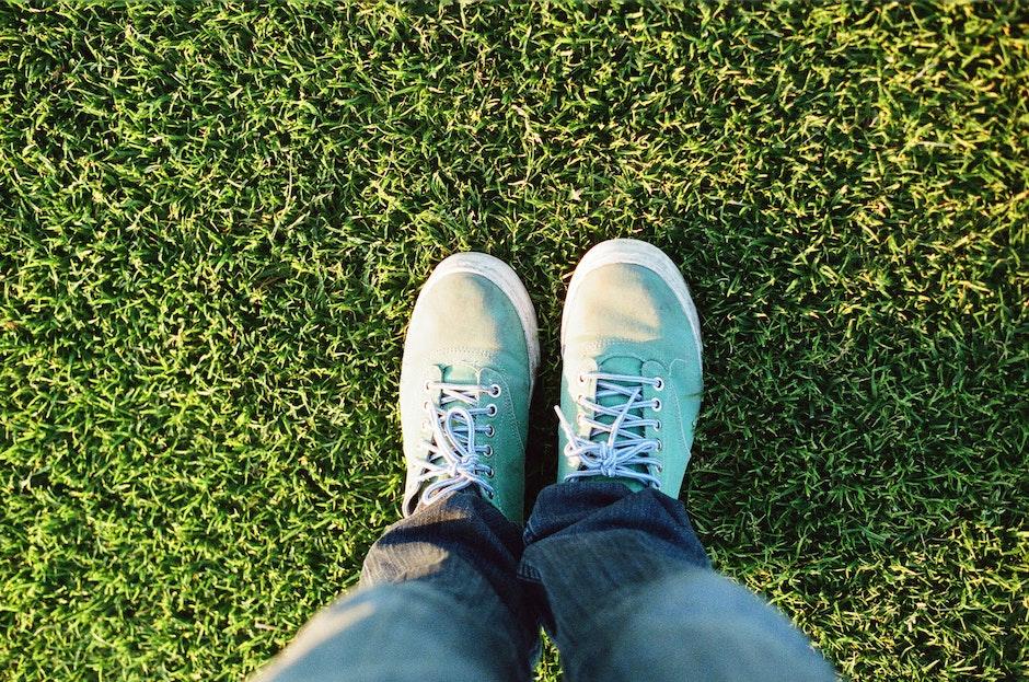 feet, foot, grass