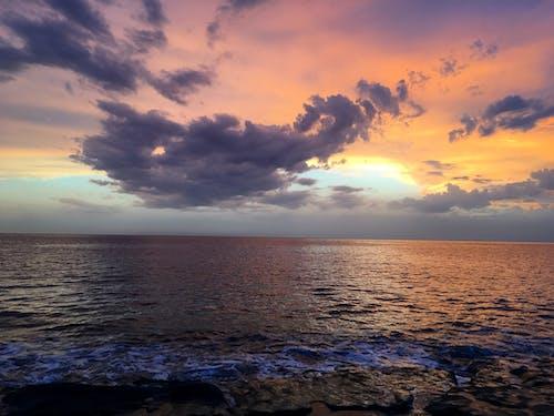 Fotobanka sbezplatnými fotkami na tému horizont, leto, more, mraky