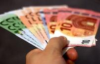 hand, money, paper