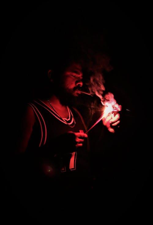 彩色煙霧, 消防照明 的 免費圖庫相片