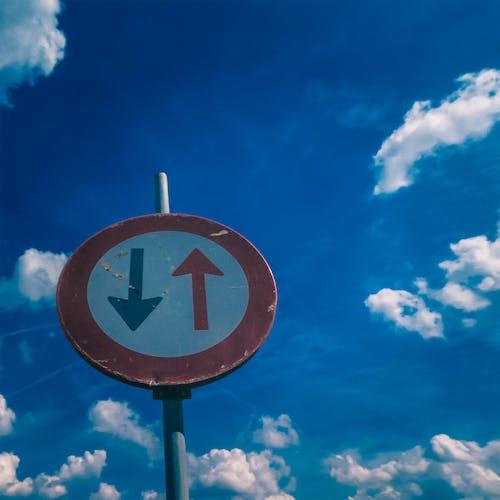 Ảnh lưu trữ miễn phí về biển báo giao thông, cấm, trời xanh, tròn
