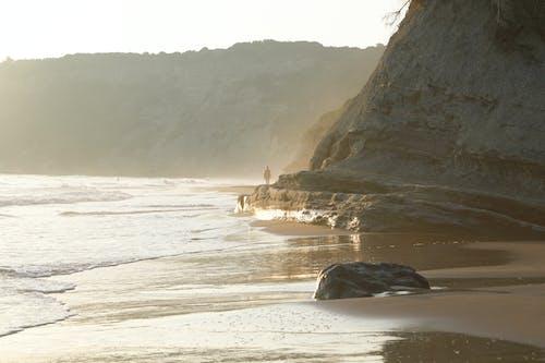 Fotobanka sbezplatnými fotkami na tému more, pobrežie, príroda, večer