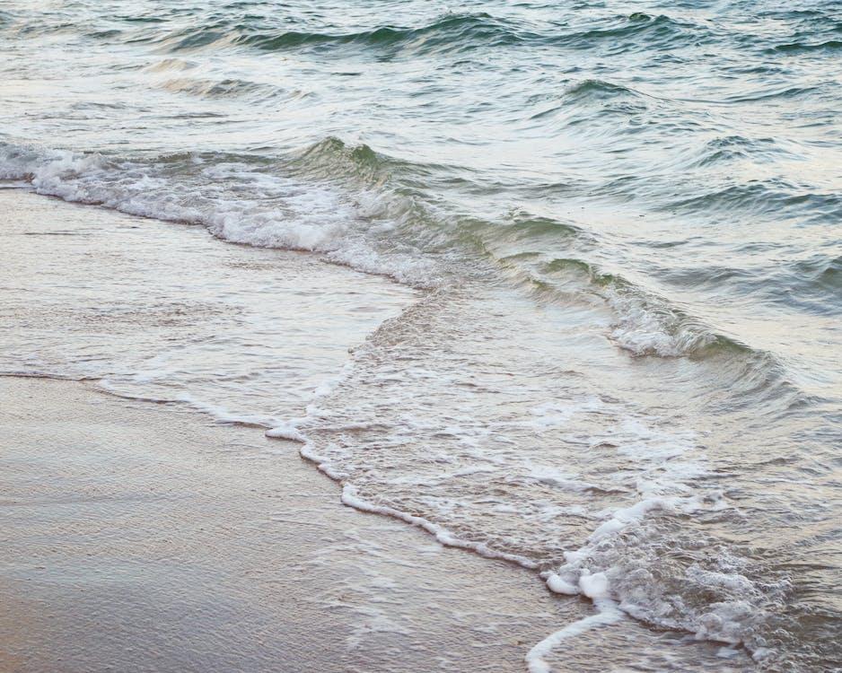 ακτή, άμμος, γνέφω