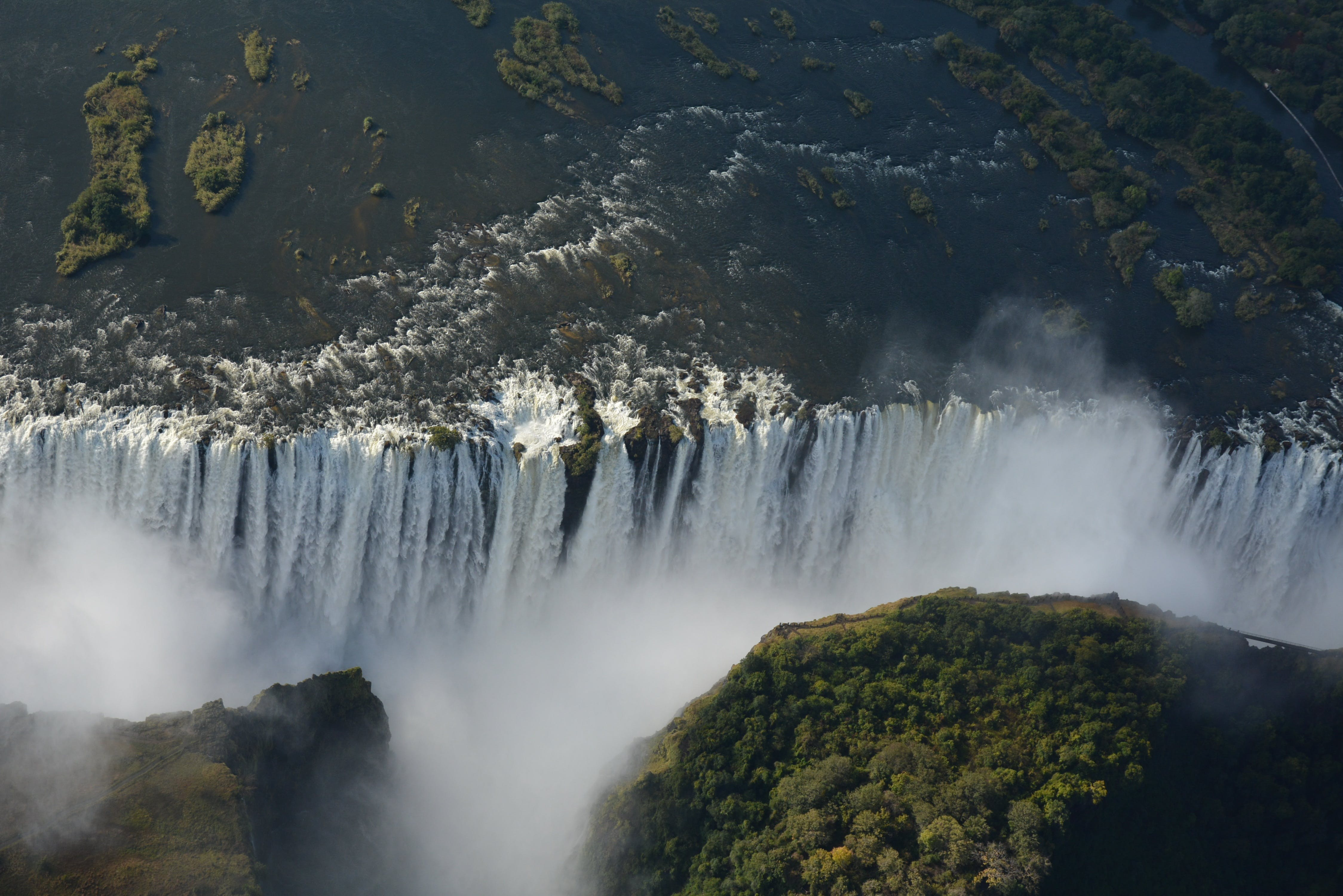 Free stock photo of africa, victoria falls, waterfall