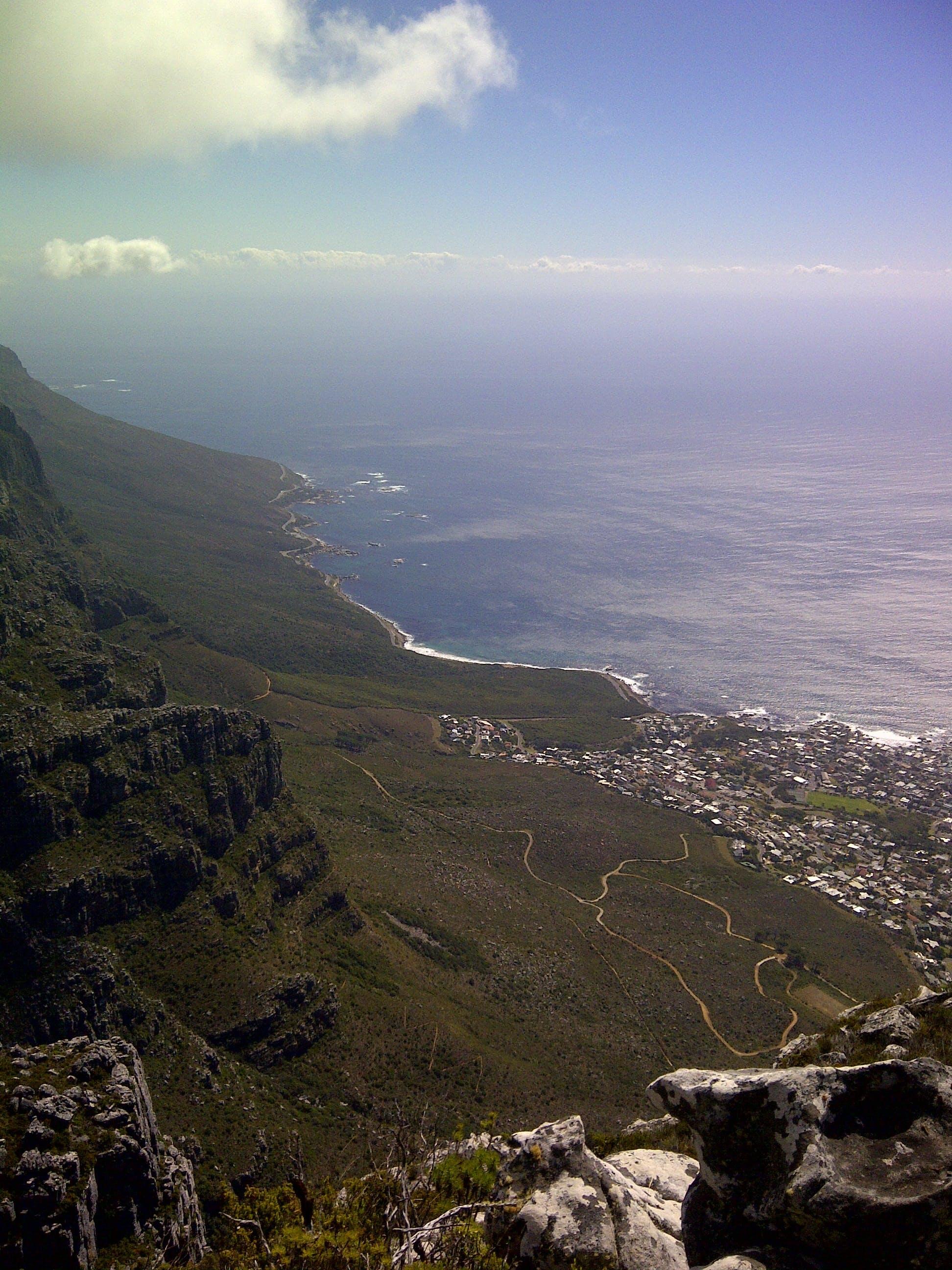 cliff, landscape, mountain