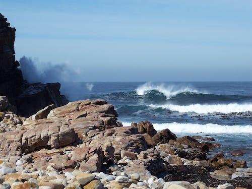 シースケープ, ロッキー, 岩, 水の無料の写真素材