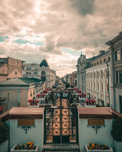 Бесплатное стоковое фото с архитектура, вид, ворота, город