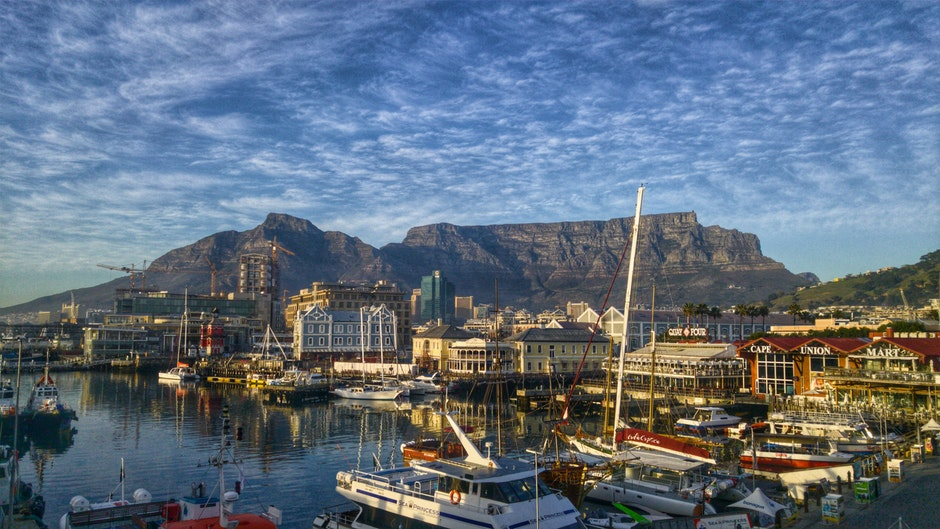 bay, boats, Cape Town