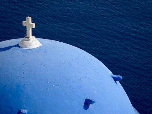Imagine de stoc gratuită din biserică, Santorini