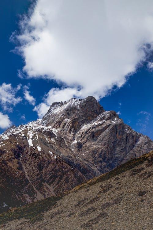 Free stock photo of blue mountains, cloud, cloud formation, kathmandu