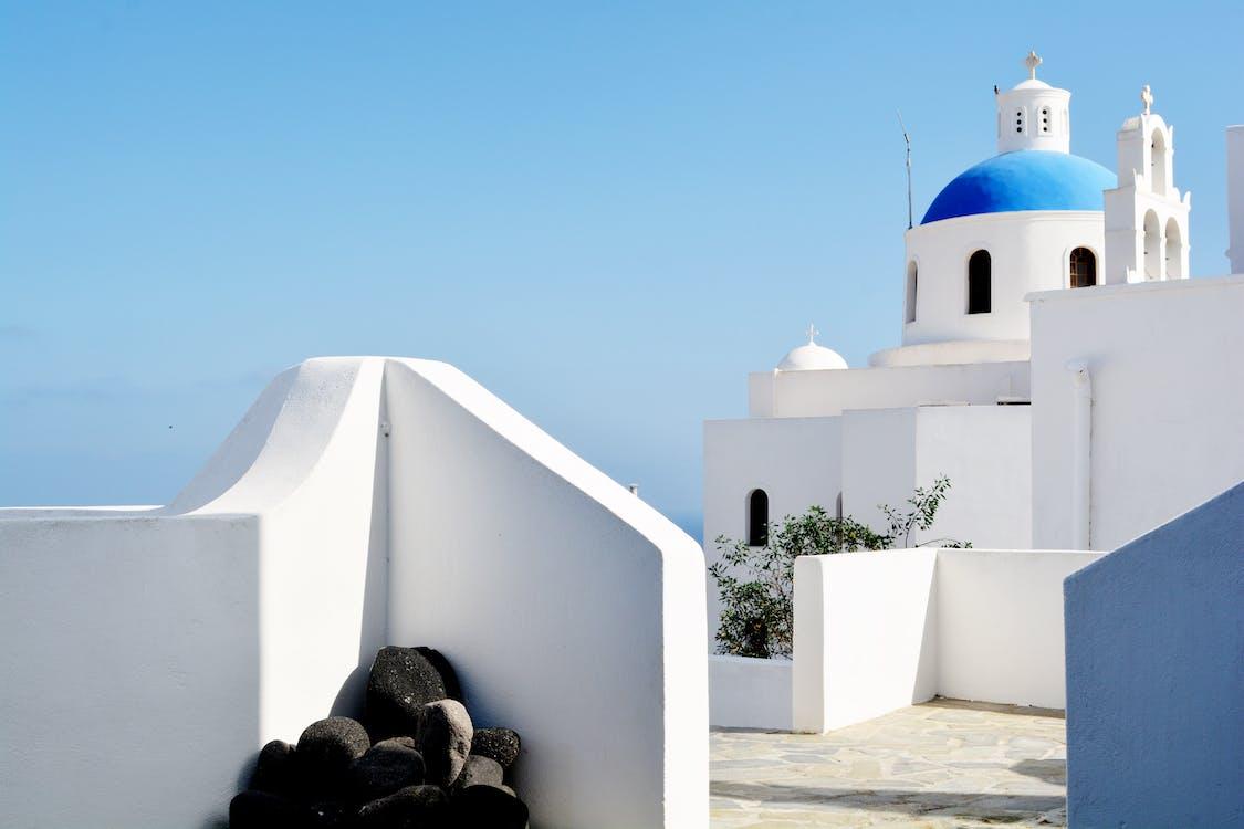 White Dome Under Blue Sky