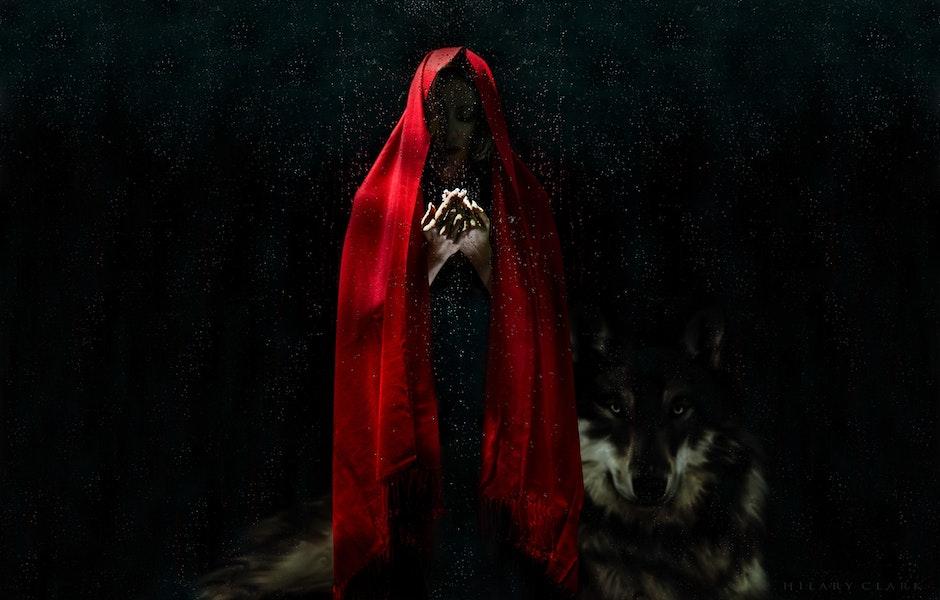 art, dark, eerie