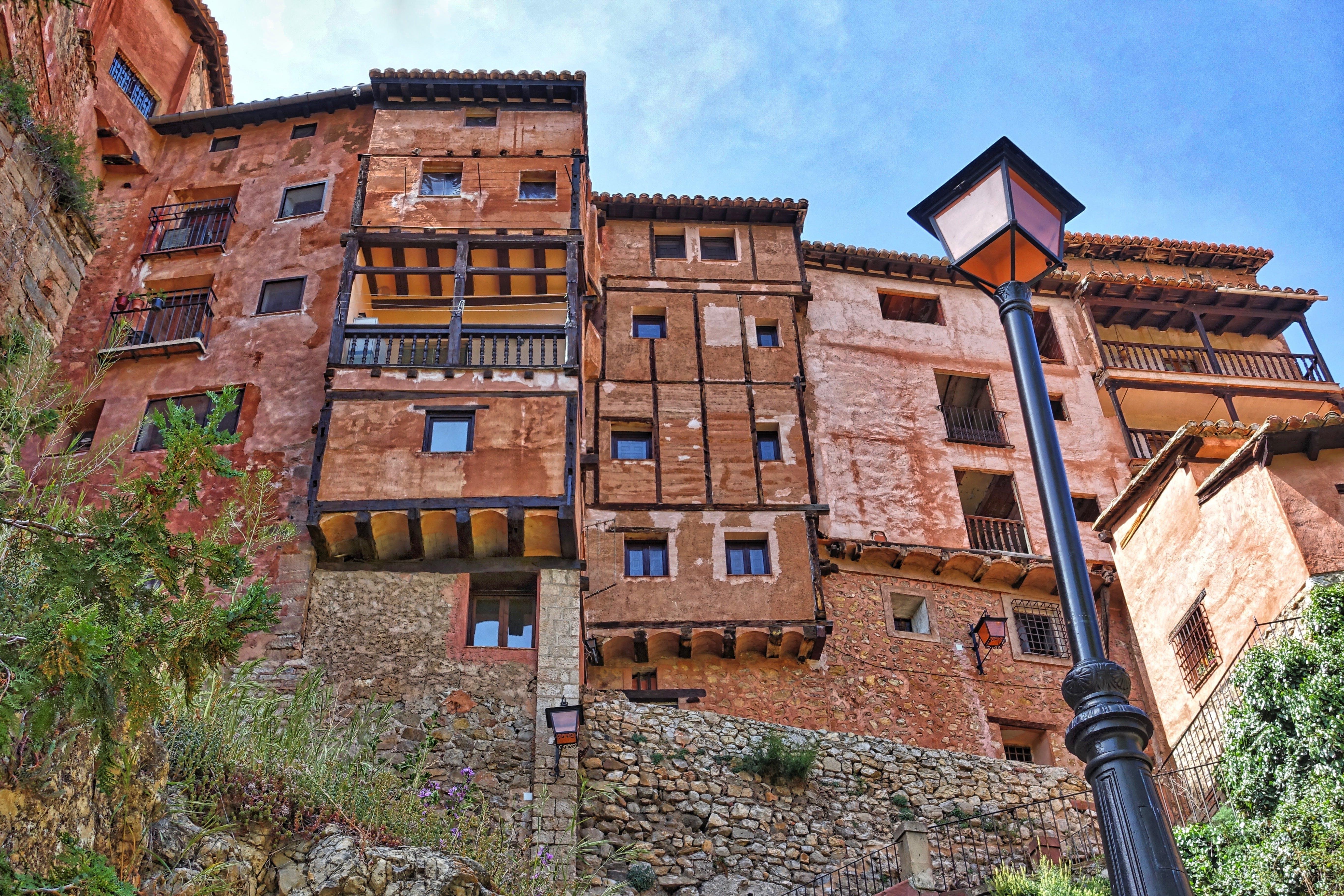 Gratis lagerfoto af albarracin, aragón, årgang, arkitektur