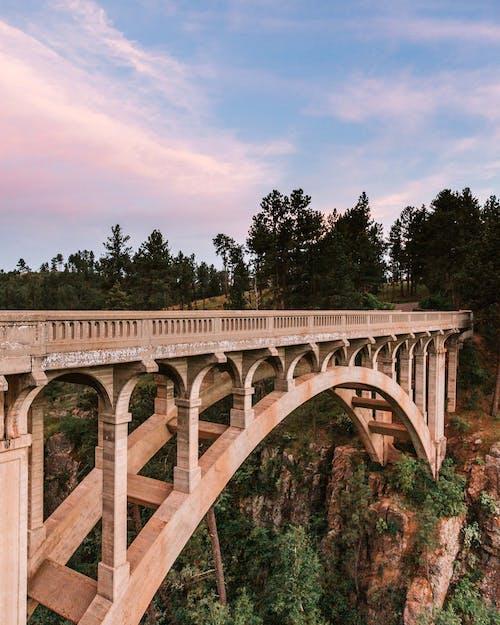 Ingyenes stockfotó építészet, hegyek, ívhíd, kanyon témában