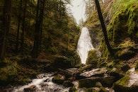 landscape, nature, man