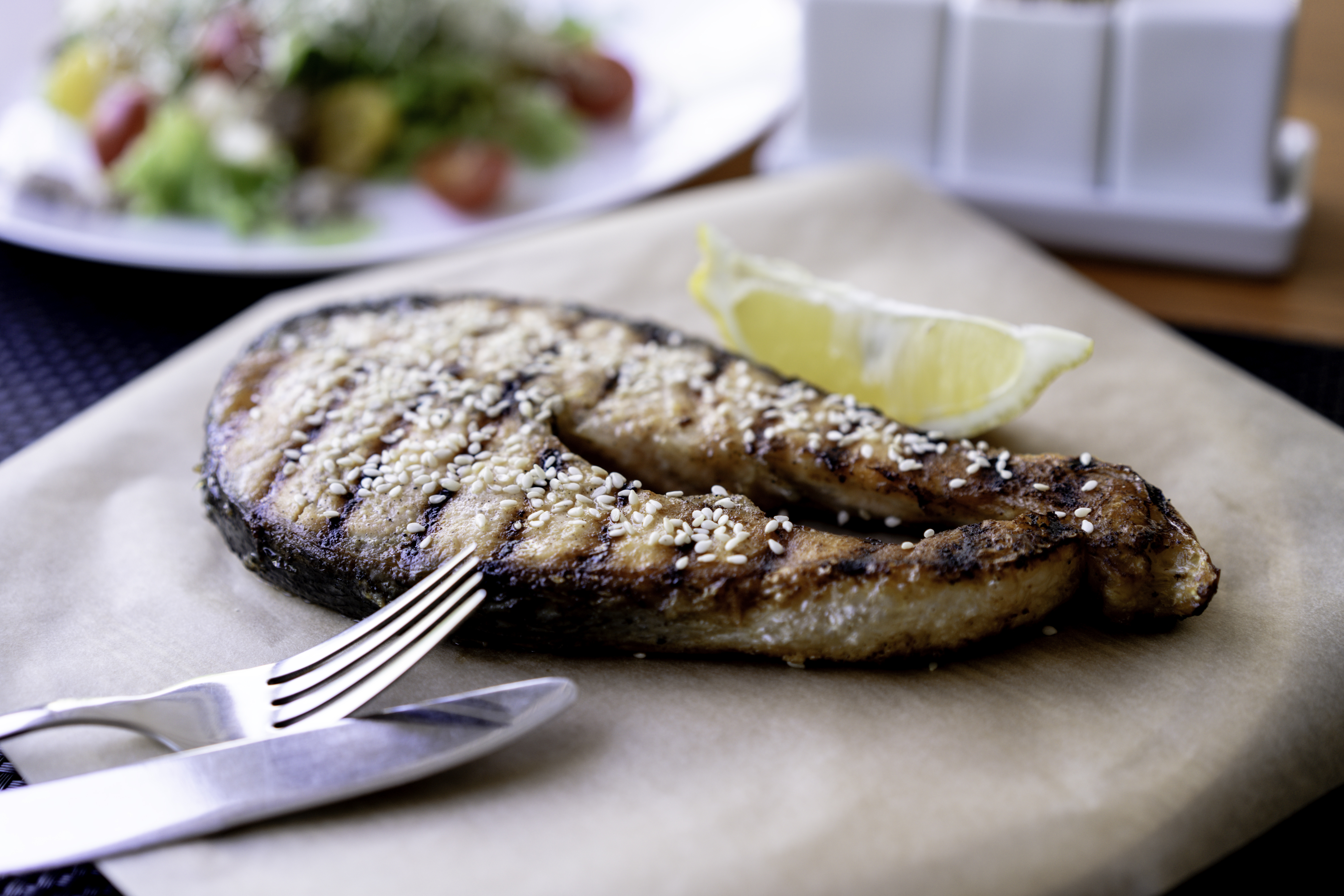 Close-Up Photo of Sliced Cooked Fish