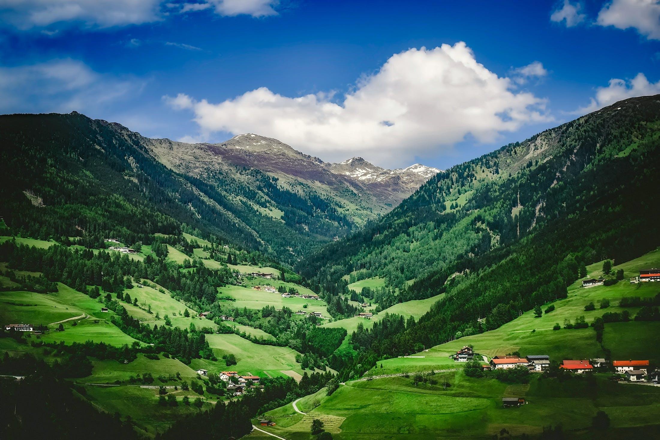 austria, beautiful, clouds