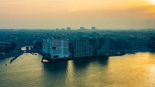 Free stock photo of amsterdam, city, city view, cityview