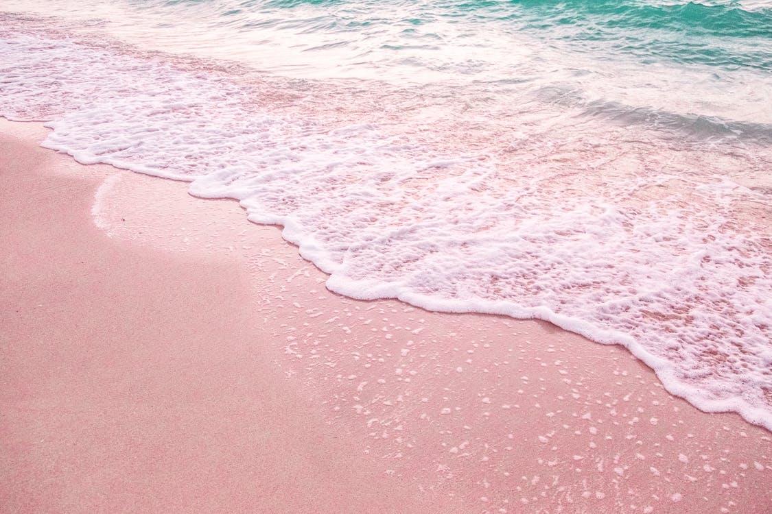 берег, вода, волна