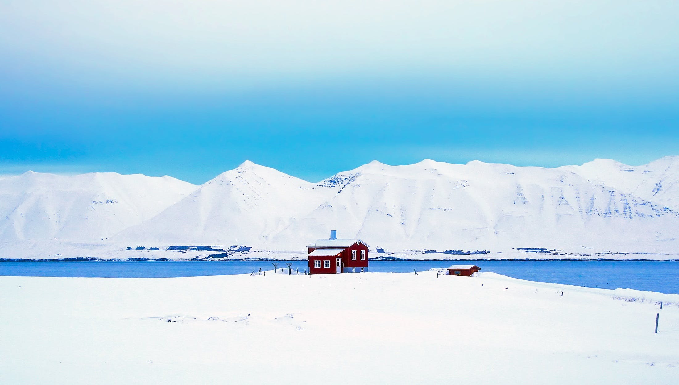 cabin, cold, cottage