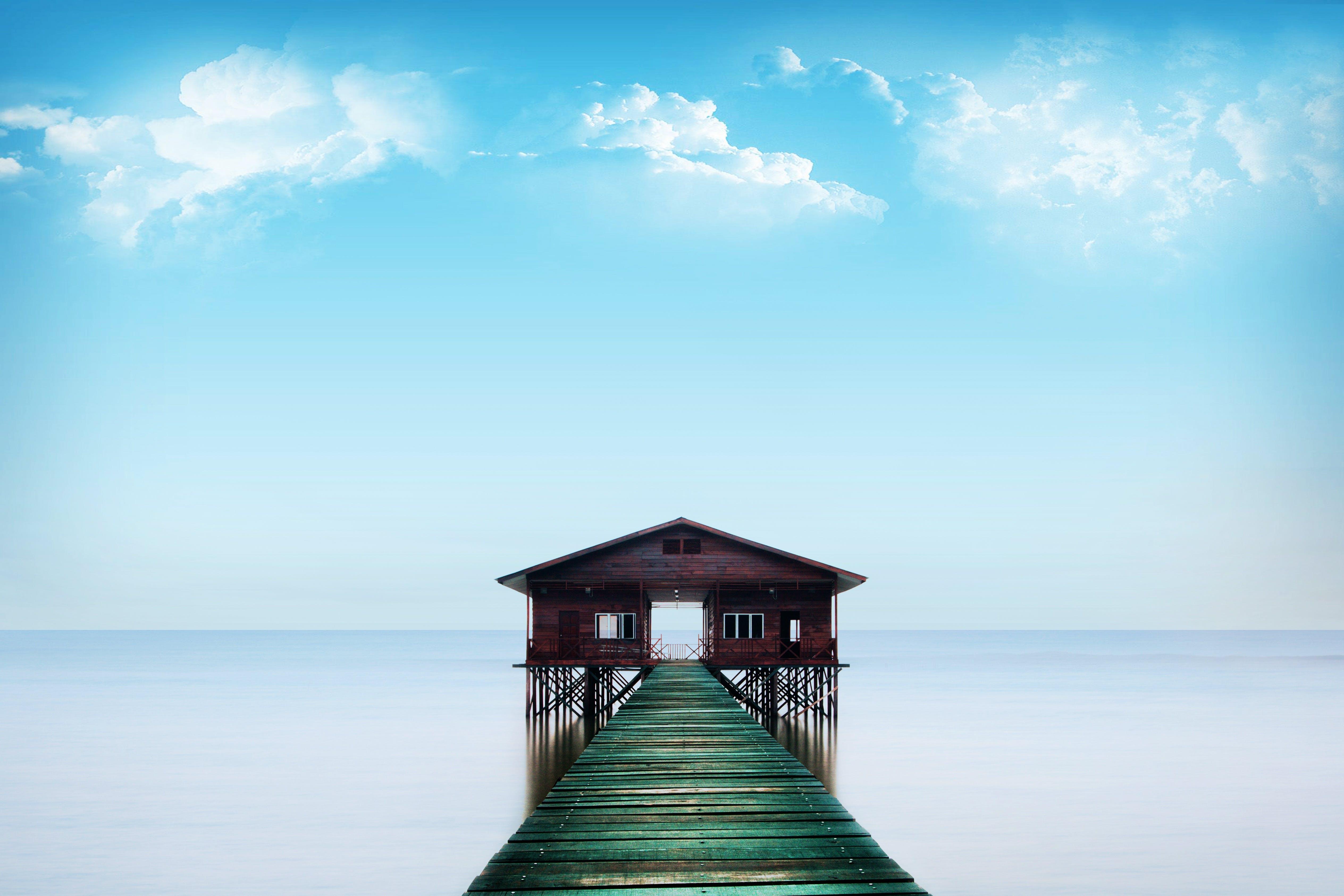 คลังภาพถ่ายฟรี ของ กลางวัน, งดงาม, ทะเล, ท้องฟ้า