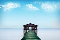 sea, sky, water