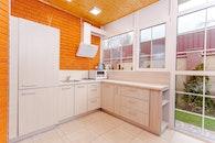 architecture, kitchen, room