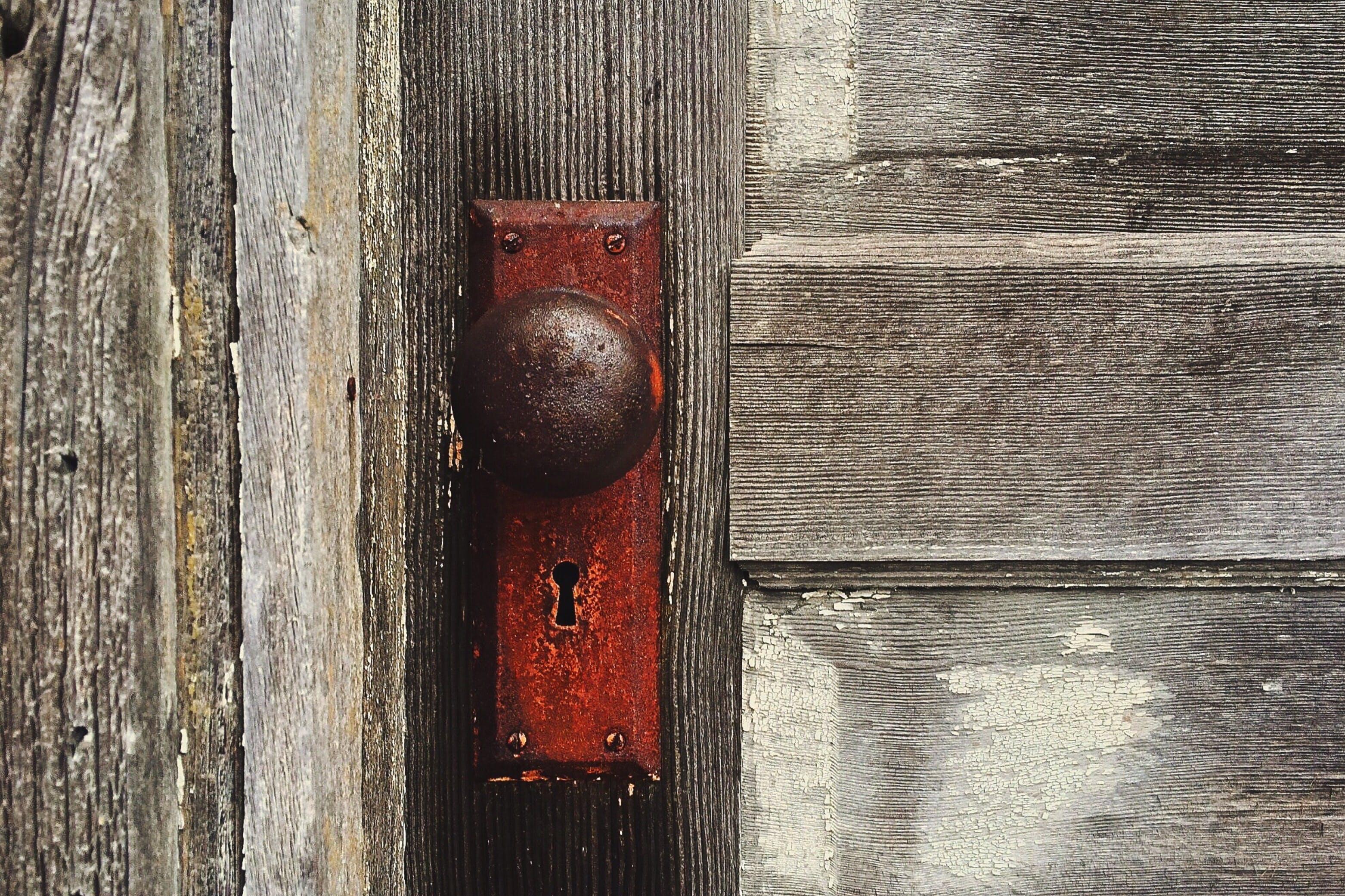 Brown Steel Door Knob