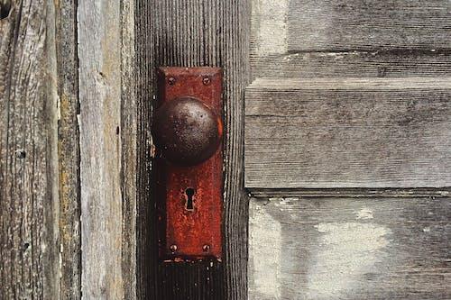 คลังภาพถ่ายฟรี ของ ขรุขระ, ชนบท, ทำด้วยไม้, ประตู