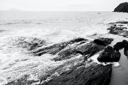 Photos gratuites de cailloux, côte rocheuse, océan, paysage marin