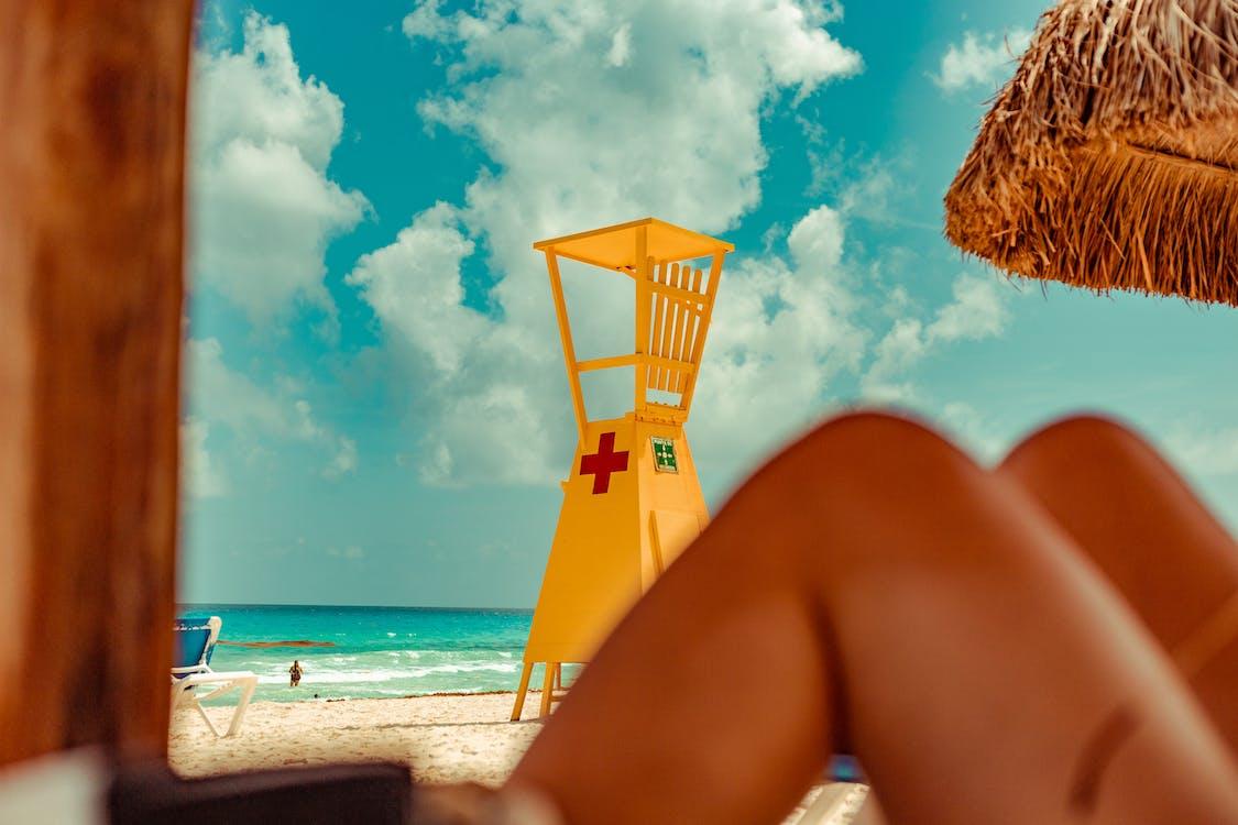 cancun, hengenpelastajan torni, hiekkaranta