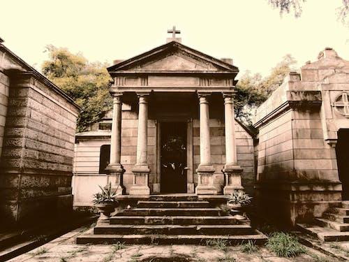 Fotos de stock gratuitas de administración, arboles, arquitectura, cementerio