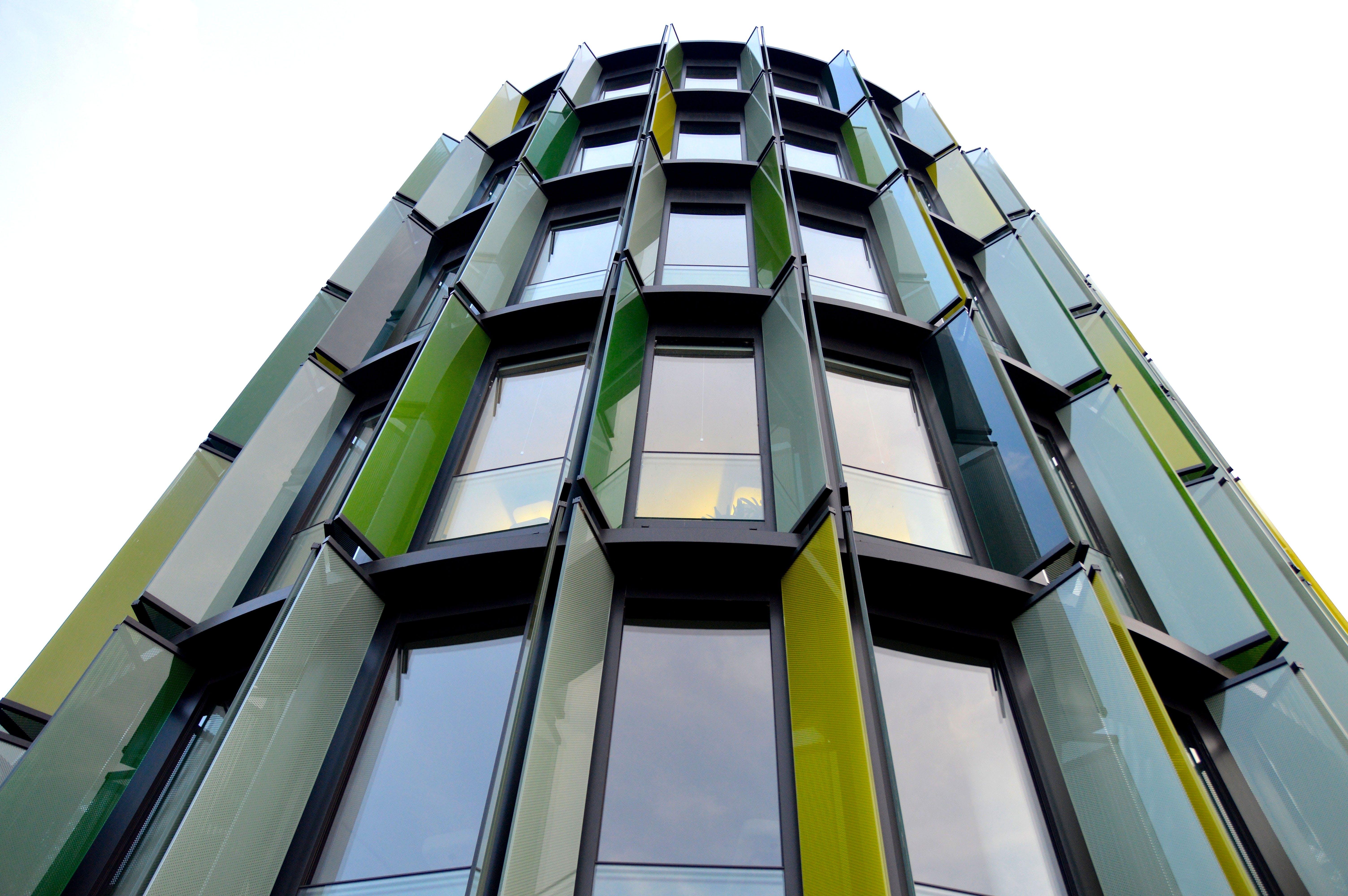Gratis arkivbilde med arkitektur, bygning, glass, høyblokk