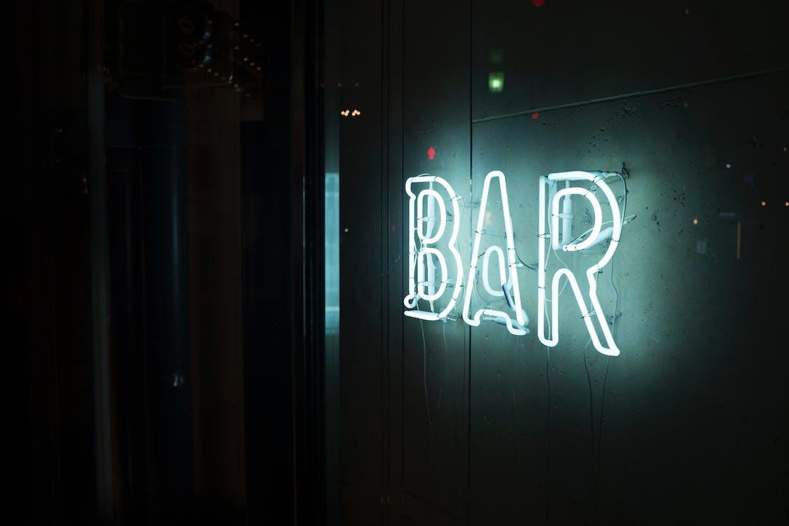 bar, dekor, dekorasjon
