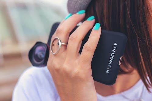 คลังภาพถ่ายฟรี ของ จับ, ผู้หญิง, มือถือ, สมาร์ทโฟน