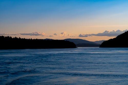 Photos gratuites de coucher de soleil, îles du golfe, océan