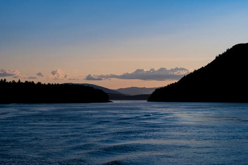 Kostnadsfri bild av gulföarna, hav, solnedgång