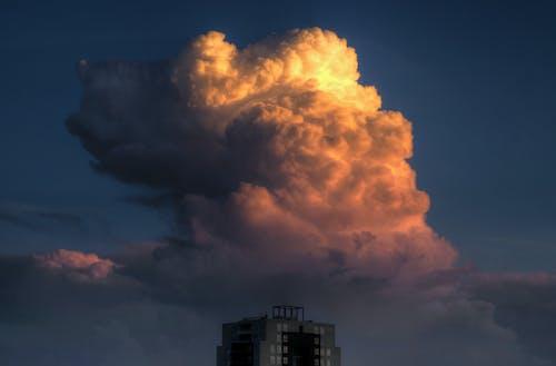 Foto d'estoc gratuïta de núvol