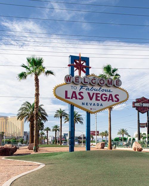 Бесплатное стоковое фото с вывески, город, знак, Лас-Вегас