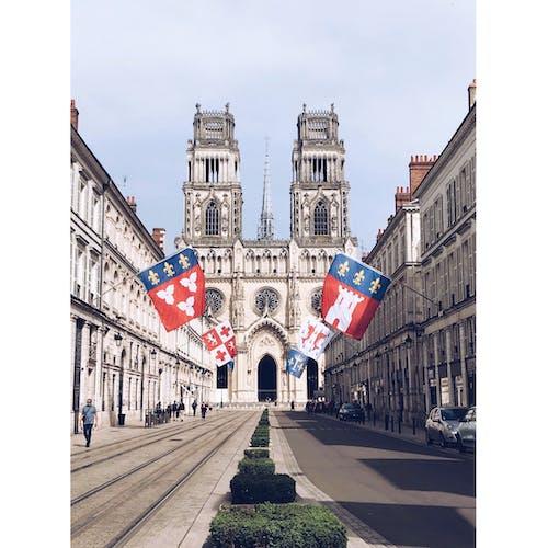 cathédrale sainte-croix d' orléans, 거리, 건물, 건물 외관의 무료 스톡 사진