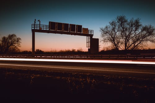 Δωρεάν στοκ φωτογραφιών με αυτοκινητόδρομος, δέντρα, δρόμος, θολούρα