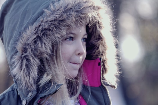 Free stock photo of cold, girl, cute, child