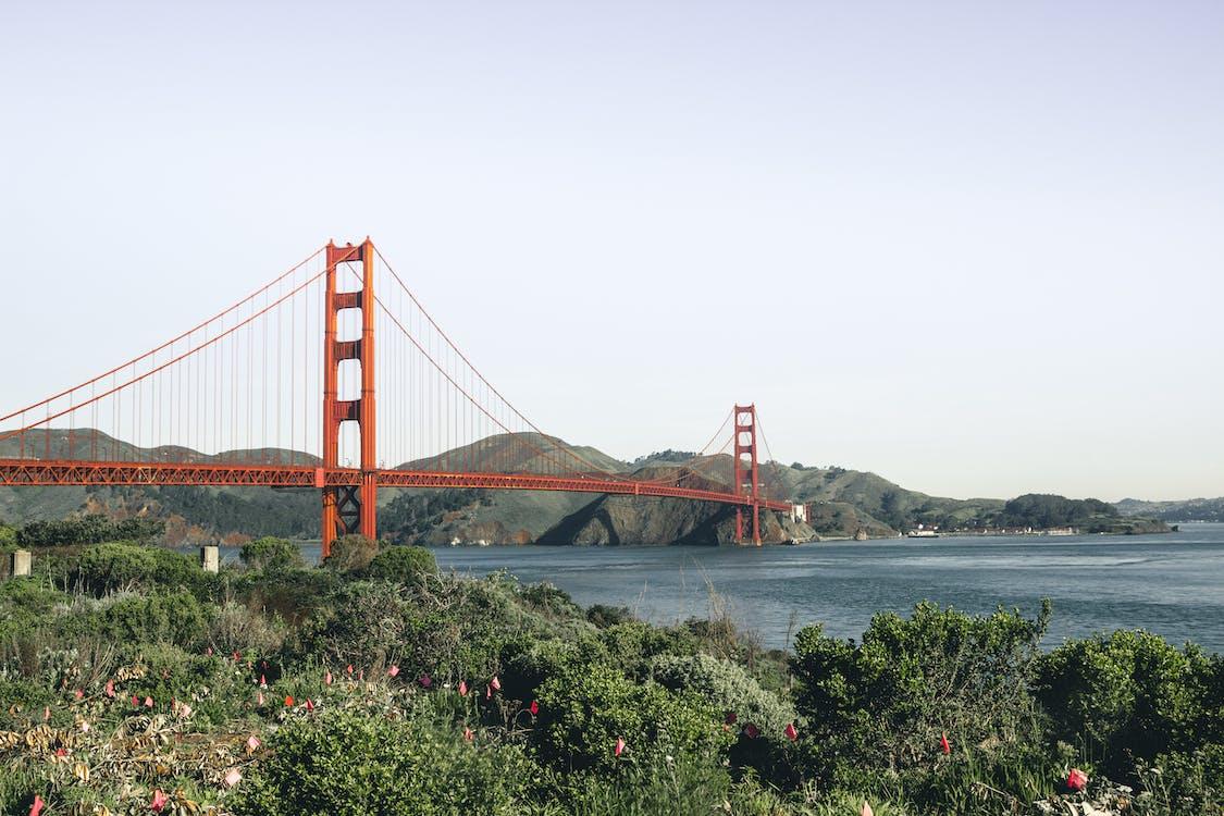 Fotobanka sbezplatnými fotkami na tému architektúra, Golden Gate Bridge, Kalifornia