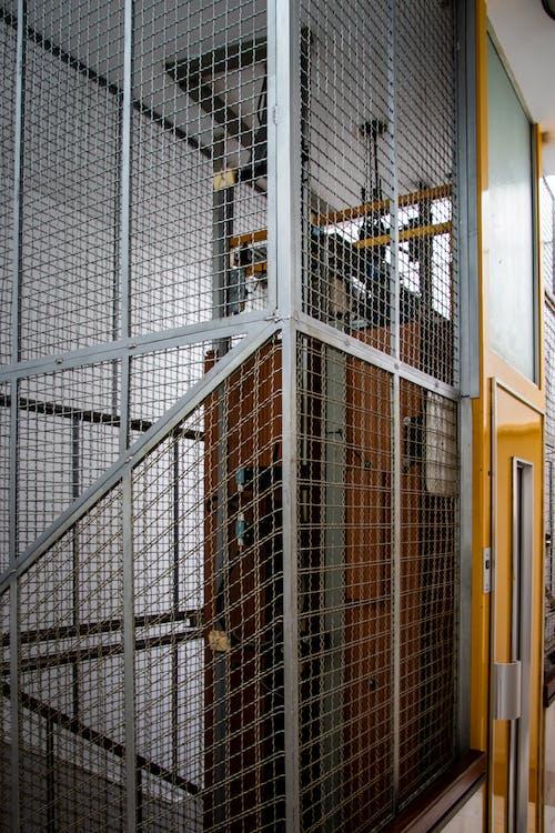 asansör, çağdaş, çelik