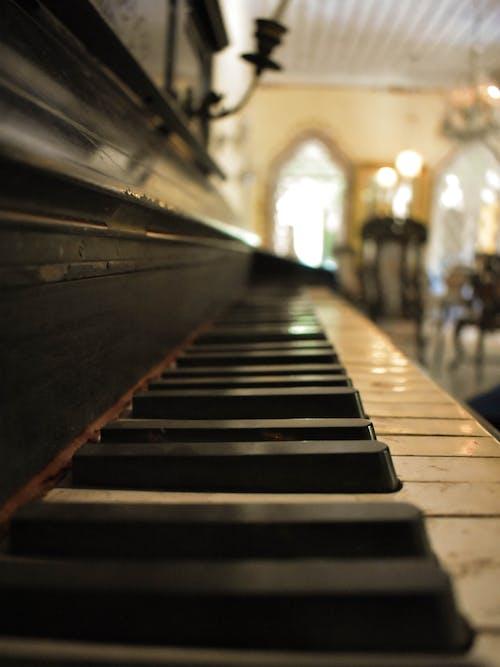Δωρεάν στοκ φωτογραφιών με vintage, μουσική, παλαιός, πιάνο