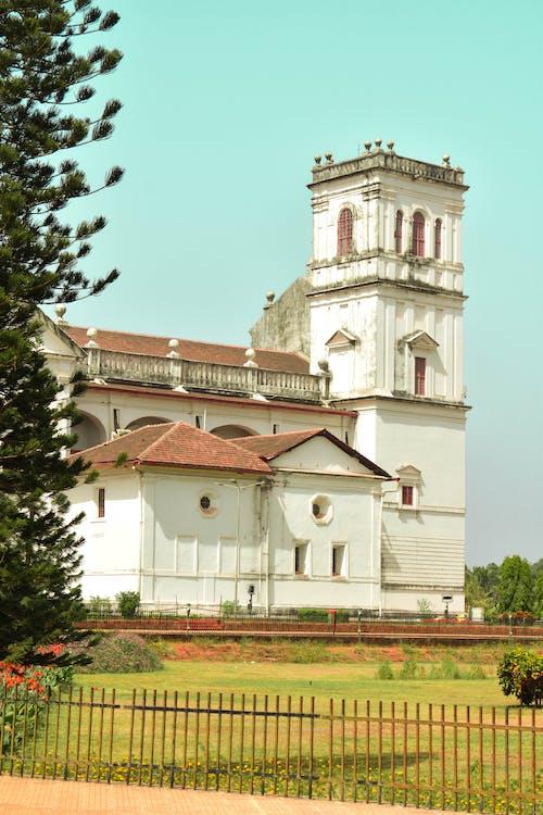 Δωρεάν στοκ φωτογραφιών με goa, ημέρα, καθεδρικός ναός, λαμπρός